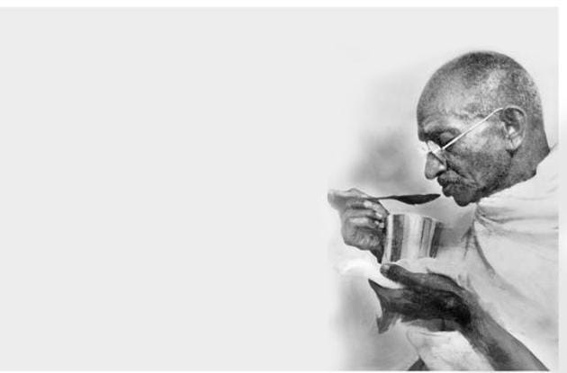 """For Gandhi, the control of the palate was essential, since brahmacharya meant """"control of the senses in thought, word and deed.""""(Getty Images)"""