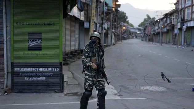 The United States wants India to quickly ease restrictions imposed in Kashmir(HT File Photo)