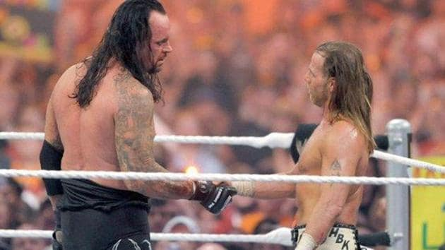 The Undertaker shared a bitter rivalry with Shawn Michaels.(WWE)