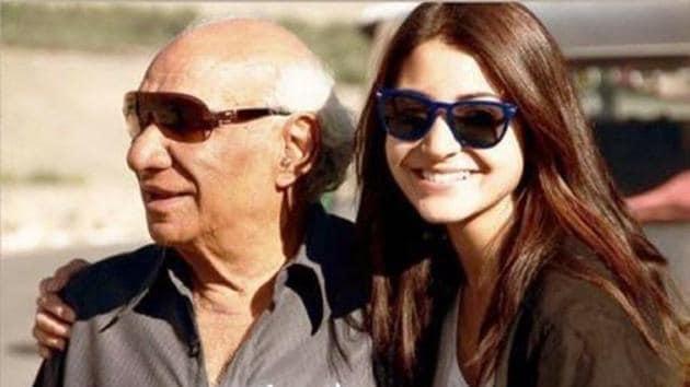 Anushka Sharma paid tribute to late filmmaker Yash Chopra on his 87th birth anniversary.