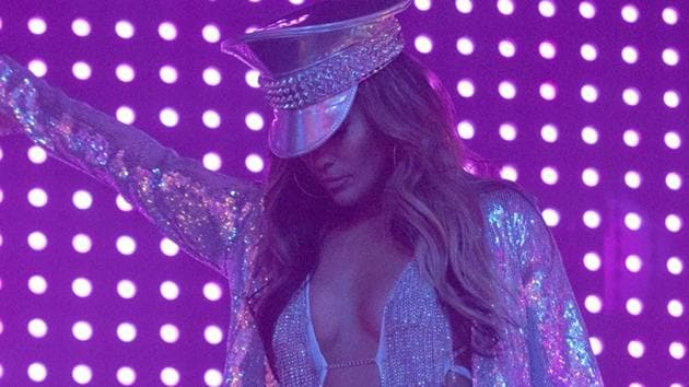Hustlers movie review: Jennifer Lopez in a scene from Lorene Scafaria's new film.(AP)