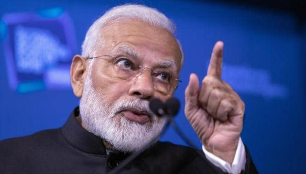 PM Modi will address the UN General Assembly on Friday morning and Khan is expected to make his speech shortly thereafter.(AP)