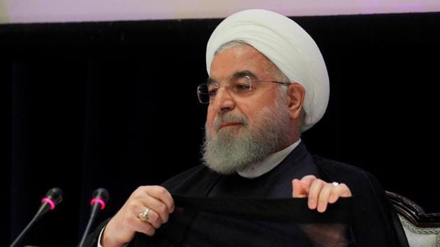 Hassan Rouhani denied any Iranian involvement in attacks on Saudi Arabia against allegations from US.(Reuters Photo)