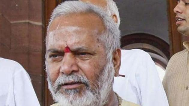 The bail appeal of the woman who accused former Union minister Chinmayanand of rape, and was arrested on Wednesday in an extortion case filed by the Bharatiya Janata Party (BJP) veteran, will be heard in a local court in Shahjahanpur on September 30(PTI)