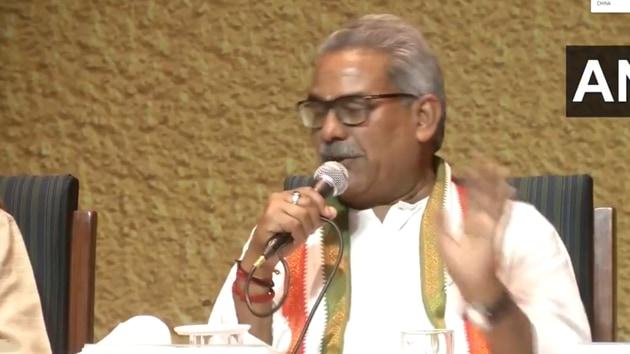 Rashtriya Swayamsevak Sangh Krishna Gopal.(ANI photo)