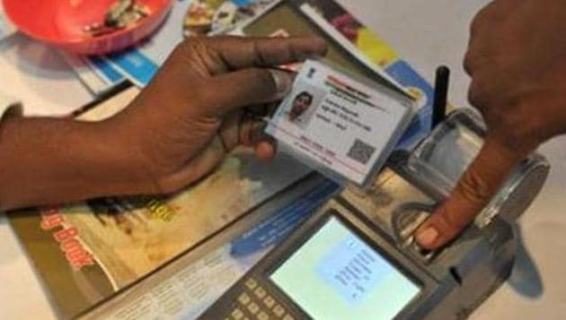 Odisha government has asked pensioners to link their Aadhaar numbers with their welfare account by the end of March.(AFP Photo/Representative)