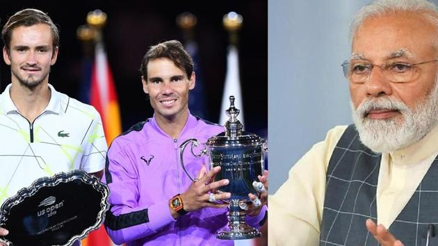 Prime Minister Narendra Modi addressed the nation via his 'Mann Ki Baat' radio programme. He mentioned the recent US Open final between Rafael Nadal and Daniil Medvedev. Nadal won the tennis tournament on September 8, 2019. PM Modi lauded Nadal's humility, as well as Medvedev's simplicity and maturity. PM Modi said he watched the match, and Medvedev's speech, as it had gone viral on social media.
