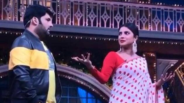 Priyanka Chopra was promoting The Sky is Pink at the Kapil Sharma Show.
