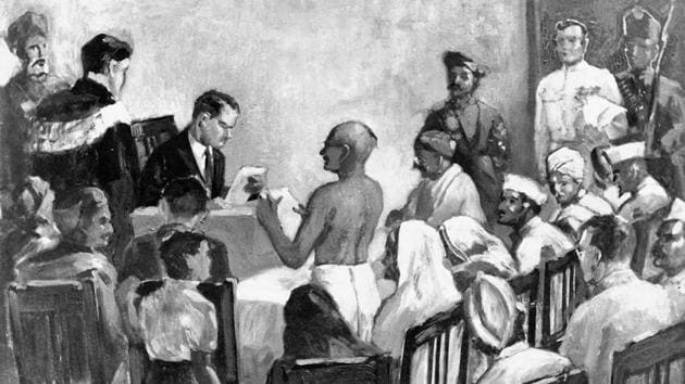 Famous figures of the freedom struggle — including Mahatma Gandhi — were sent to jail on charges of sedition. Even today, the real bite of the law is in its broad wording(Alamy Stock Photo)