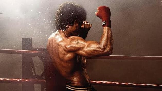 Toofan first look poster: Farhan Akhtar plays a boxer in the film.