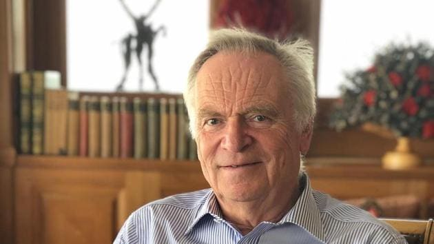 79-year-old Jeffrey Archer, whose works include include Kane and Abel and Cat O' Nine Tales, has just come out with the first book of an eight-part series involving his new character William Warwick.(Instagram)