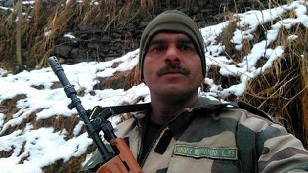 Tej Bahadur Yadav had been dismissed from service after uploading on social media a video showing allegedly poor quality food served to them.(Photo: Facebook/ Tej Bahadur Yadav)