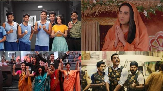 September saw five hits including Chhichhore, Dream Girl, Mission Mangal and Batla House.