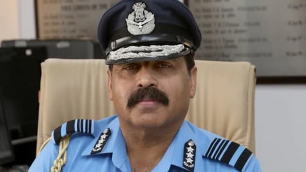 Chief of Air Staff, Air Chief Marshal RKS Bhadauria.(HT image)