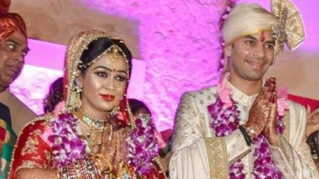 Aishwarya Rai and Tej Pratap Yadav were married in May 2018.(HT File Photo)