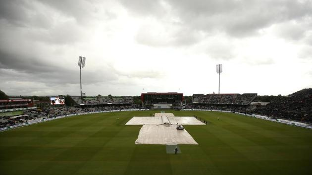 General view of the Emirates Old Trafford, Manchester during the Ashes.(Action Images via Reuters)