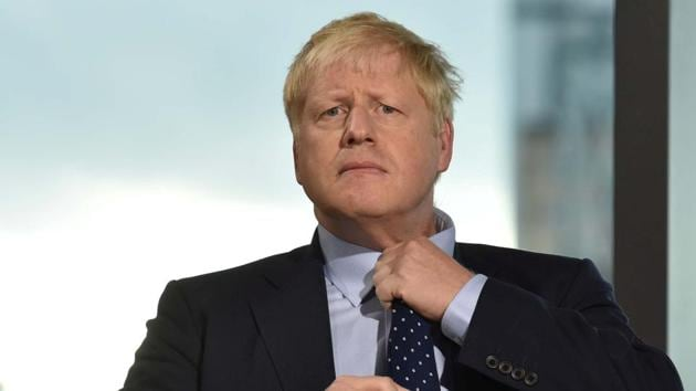 Britain's Prime Minister Boris Johnson is fighting for his credibility as prime minister as he faces allegations of sexual impropriety and plots to oust him.(via REUTERS)