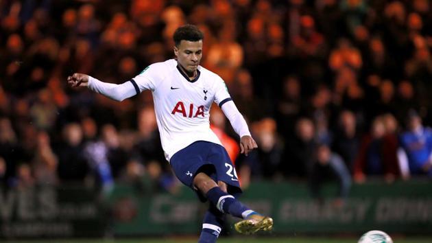 Tottenham Hotspur's Dele Alli(Action Images via Reuters)