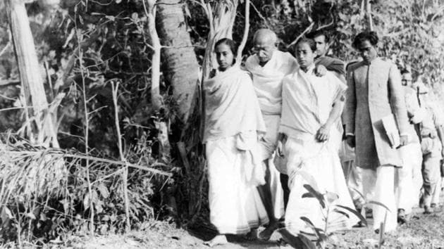 It was well-known that there was no difference between his individual faith and social objectives. The Noakhali episode is a living example of this(Photo: National Gandhi Museum)