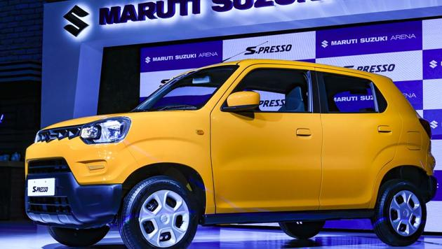 Maruti Suzuki India launched a mini SUV S-Presso, which comes with a BS-VI compliant one-litre petrol engine with a claimed fuel efficiency of 21.7 km per litre.
