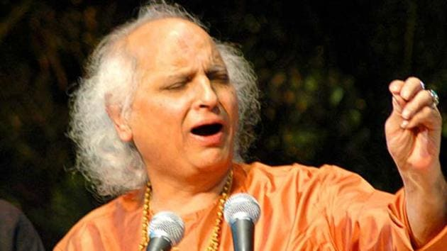 Indian classical vocalist Pandit Jasraj after whom a minor planet between Mars and Jupiter has been named.(File Photo)