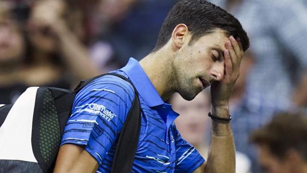 File image of Novak Djokovic(AP)