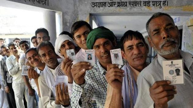 Phagwara (reserved) and Mukerian seats for assembly bypolls willbe held on October 21.(HT Photo)