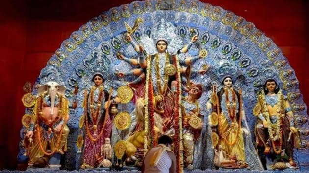 Navratri 2019: Navratri is one of the most auspicious festivals in India which is celebrated for a period of nine days.(Unsplash)