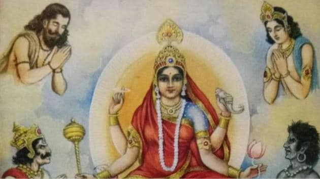 Goddess Siddhidatri takes away ignorance from her devotees and grants them knowledge.