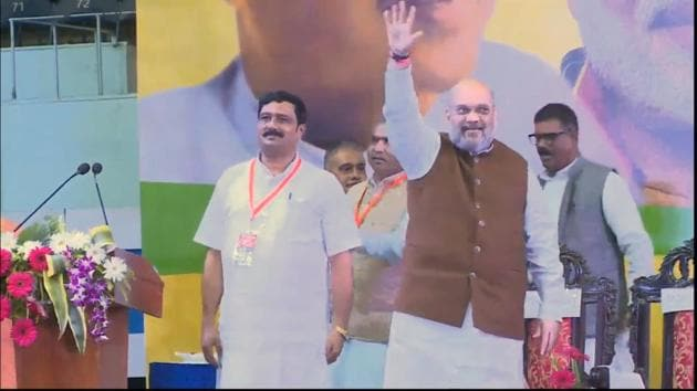Home Minister Amit Shah accused Mamata Banerjee of spreading lies on NRC. Shah said that BJP will not allow a single illegal immigrant in India. The Home Minister is in Bengal to inaugurate community Durga pujas.