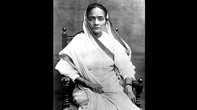 Mahatma Gandhi's wife Kasturba in 1915. Gandhi returned to India on January 9, 1915. After his return, he was advised by his mentor Gopalkrishna Gokhale — a freedom fighter who belonged to the ilk of Moderates within the Congress — to tour India for a year before embarking upon any political work. He and Kasturba, who accompanied him on many of these travels, went by the third class railway compartment. (Courtesy National Gandhi Museum)