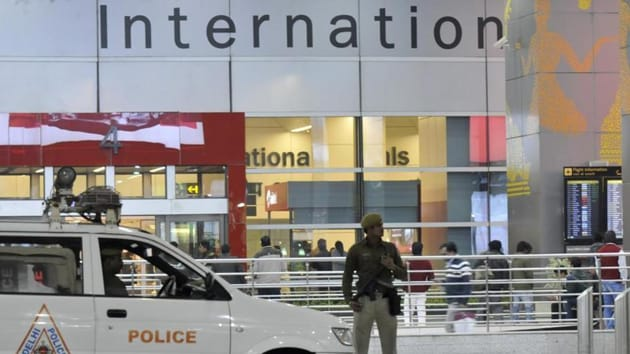 The Central Industrial Security Force (CISF) has made changes in the security pattern of the Delhi airport.(Vipin Kumar/ HT file photo)