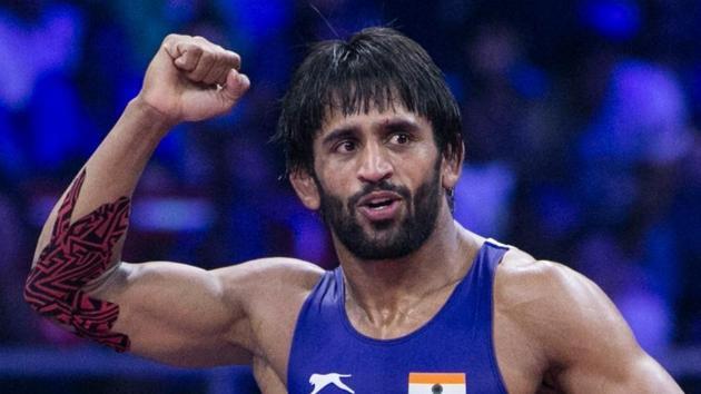 File image of Indian wrestler Bajrang Punia.(Wrestling TV)
