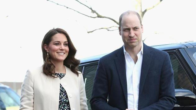 Prince William and Kate Middleton.(AP Photo)
