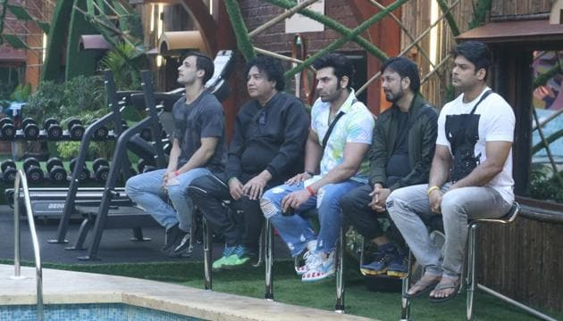 The male contestants gear up for a surprise on Bigg Boss 13.