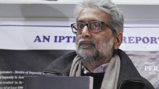 The police alleged Navlakha and others accused in the Bhima Koregaon case had Maoist links and were working towards toppling the government.(HT File Photo)