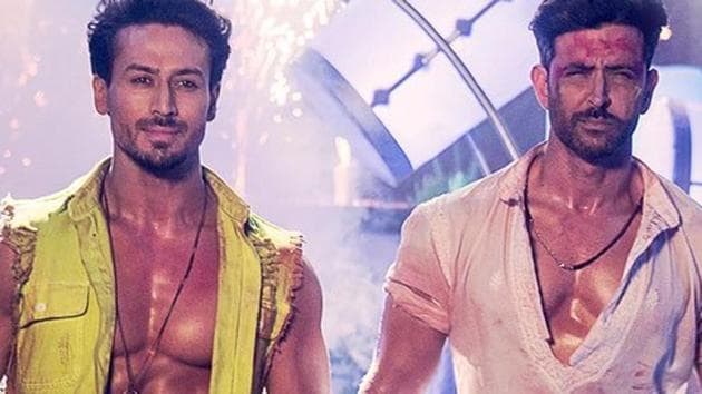 War stars Tiger Shroff and Hrithik Roshan in lead roles.