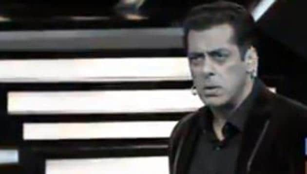 Bigg Boss 13 host Salman Khan scolds the contestants during Weekend Ka Waar episode.