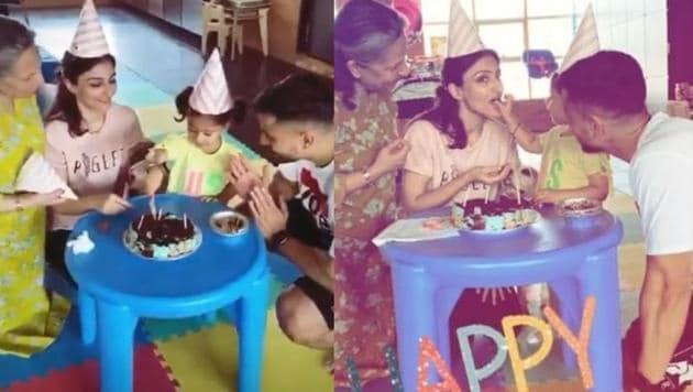 Soha Ali Khan celebrates her 41st birthday with family.