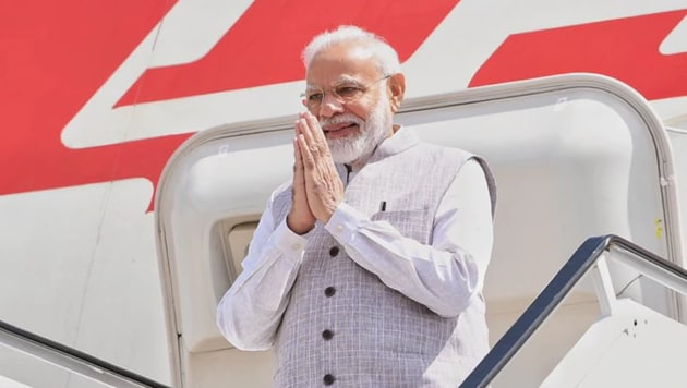 The new planes, South Block officials said, has been configured to give PM Modi some generous office space, meeting rooms and a wide array of communication systems. (Photo: Narendra Modi/ Twitter)