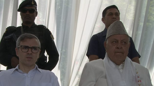 Both Farooq Abdullah and his son Omar have been in detention since August 5 when the Centre scrapped Jammu and Kashmir's special status on August 5. (Photo @JKNC_)