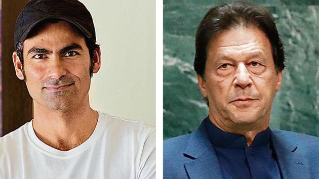 Mohammad Kaif slams Imran Khan(HT Collage)