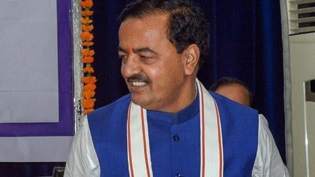 "Uttar Pradesh deputy chief minister Keshav Prasad Maurya's Ram temple statement comes a day after CM Adityanath hinted of possible ""good news"".(PTI Photo/File)"