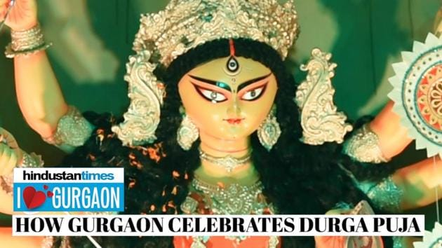 Durga Puja is a widely celebrated festival in Gurugram with over 40 communities joining in to usher the goddess. Here's a look at some of the unique ways in which the millennium city celebrates the festival.