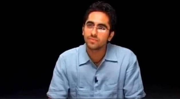 Ayushmann Khurrana in his Roadies audition tape from 15 years ago.