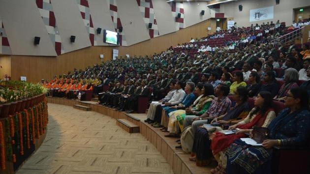 Audience at 7th convocation at IIT Mandi.(Handout)