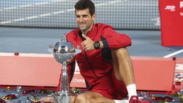 Novak Djokovic of Serbia(AP)