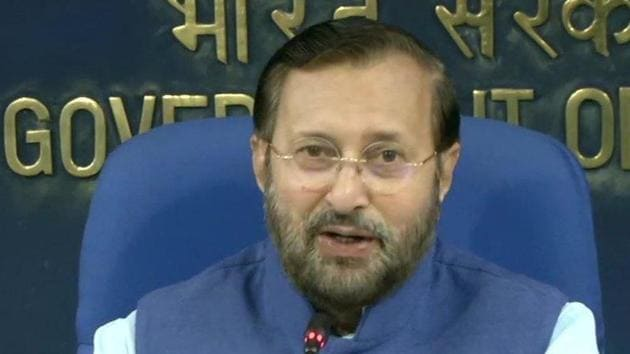 Prakash Javadekar said that the decision will bring cheers to the working classes because the central government has been achieving many milestones in many sectors and it was the contribution of central government employees.(ANI Photo)
