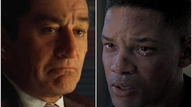 Digitally de-aged Robert De Niro (The Irishman) and Will Smith (Gemini Man).