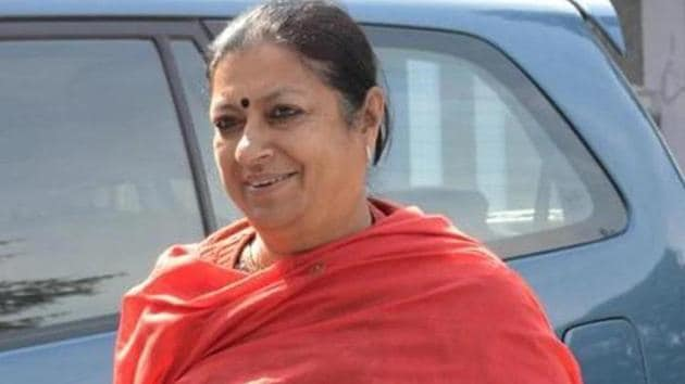 While criticising Modi led centre, Congress lawmaker Asha Kumari said rupee has devalued so much that it is now lower than even the Bangladeshi Taka said Congress lawmaker Asha Kumari.(HT Photo)